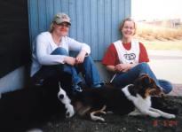 toukokuu 2004 Toto ja Hertta BH-kokeessa